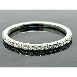 Wedding Band Diamonds 0.20ctw 10k Gold Ring Size 5